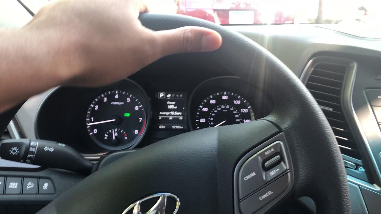 Hyundai Santa Fe How To Open Up The Gas Cap