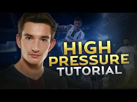 FIFA 17 TUTORIAL - HOW TO PRESSURE HIGH / THE GEGENPRESSIN IS REAL