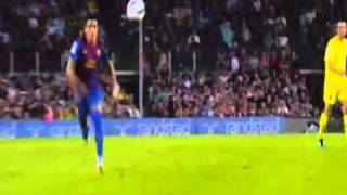 Barcelona - Villarreal (5-0) All Goals, full highlights 08.29.2011