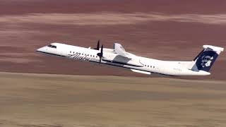 N423QX Bombardier Dash 8 Q400 Alaska Airlines Horizon Air