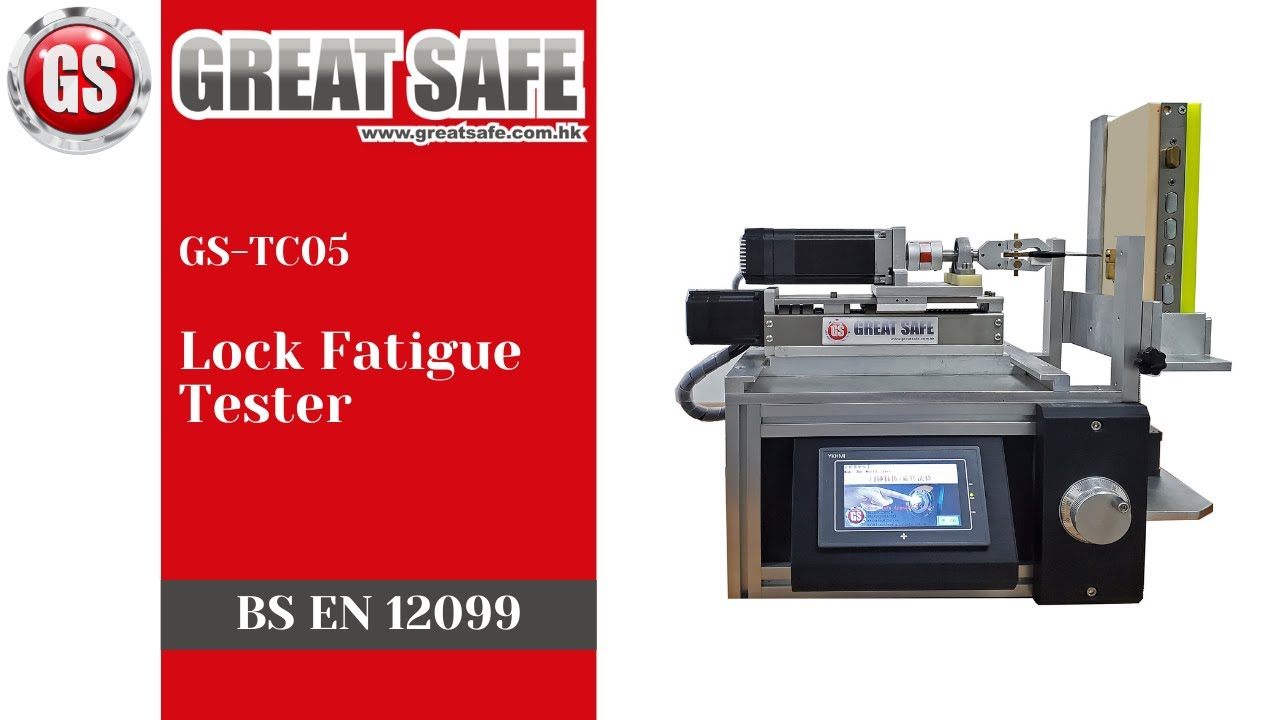 EN 12209 Lock Fatigue Tester
