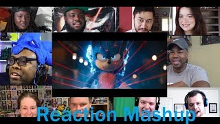 Sonic The Hedgehog New Official Trailer REACTIONS MASHUP