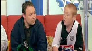 Stephen Graham and Tomo Turgoose on SoccerAM-This Is England