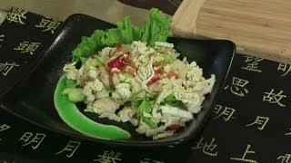 Crunchy Chinese Chicken Salad : Chinese Food At Home