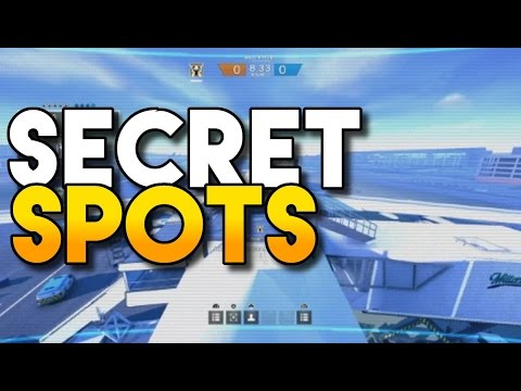SECRET VALKYRIE CAMERA SPOTS!!! | Rainbow Six Siege
