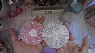 Martha Stewart Fringe Scissors ~ Glitterific Crepe Paper Trim