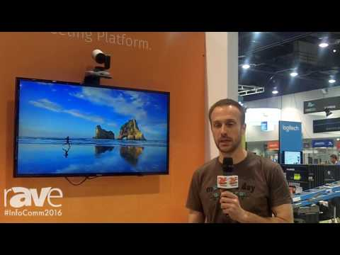 InfoComm 2016: Pexip Demos New Video Conferencing System for rAVe on InfoComm16 Set Up Day