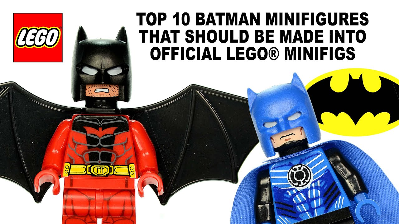 Top 10 Batman Batsuits That Should Be Made Into Official LEGOR Minifigures