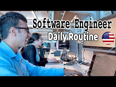 Indian Software Engineer USA: DAILY ROUTINE (Intern Edition)
