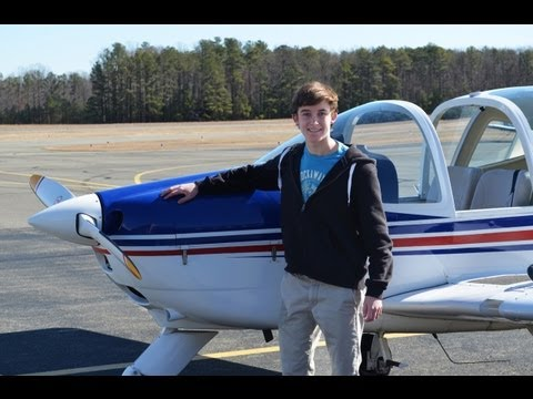 First Solo Flight GoPro: Swayne Martin