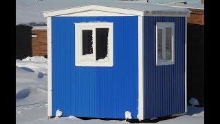 Пост охраны с профлиста синий цена 21.500руб. ( Бытовки бани в СПб )(, 2015-04-05T08:59:30.000Z)