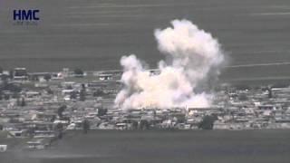 التنفيذ الثاني من الطيران المروحي على قرية العمقية 25 4 2015