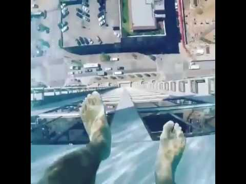 A glass bottom pool with a view youtube - Glass bottom pool ...