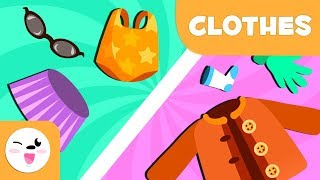Winter and summer clothes - Vocabulary for children