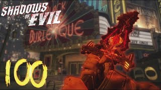 ROUND 75+ NOW  'SHADOWS OF EVIL' ROUND 100 BOSS FIGHT ATTEMPT! (BLACK OPS 3 ZOMBIES)