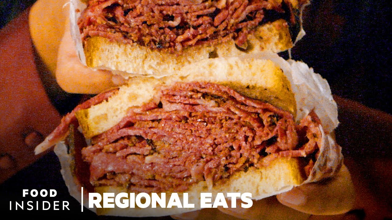 How Traditional Pastrami Is Made In New York City | Regional Eats
