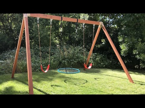 How to Build the Spider Wooden Swing Set! Installation Steps for Making the BEST Wooden Playset.