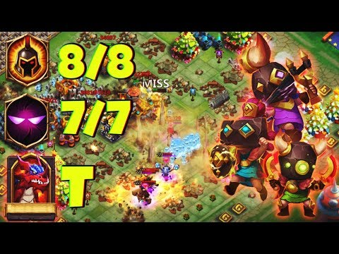 Rowdy Rascals | 8 WG | 7 Unholy Pact | Maxed Out | HBM T | CASTLE CLASH
