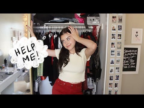shop my closet!! trying on clothes I never wear... yikes