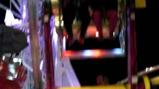 screaming in santa monica pier ride!!!
