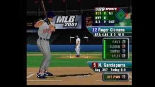 mlb 2001 gameplay boston vs new york