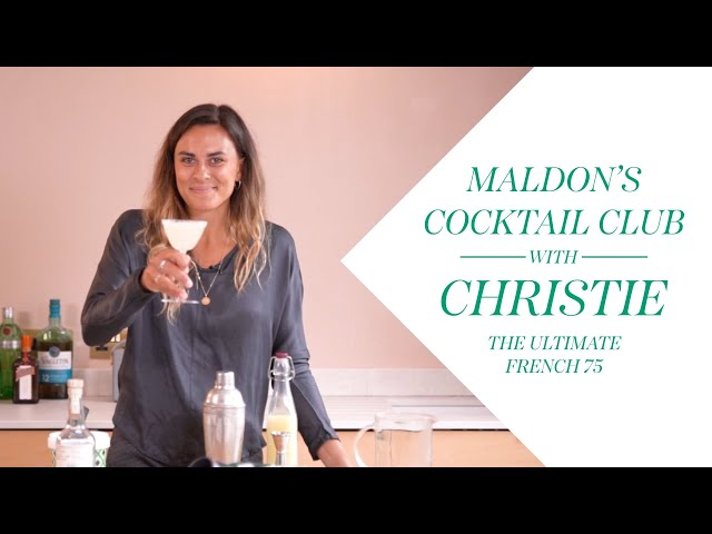 French 75 - The perfect drink for a special occasion - Maldon Cocktail Club