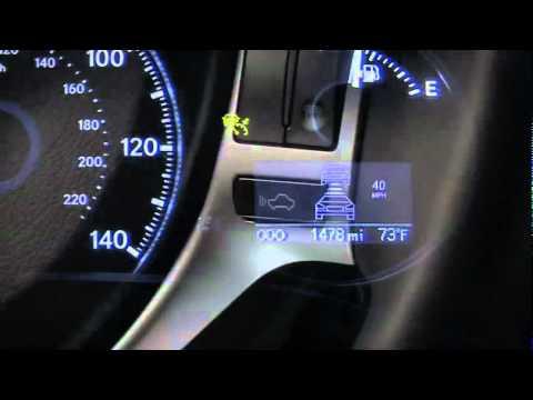 lexus high speed dynamic radar cruise control
