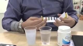 Тест pH при помощи полосок LR ProBalans