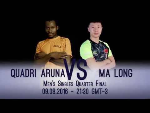 Rio 2016 I Ma Long v Aruna Quadri