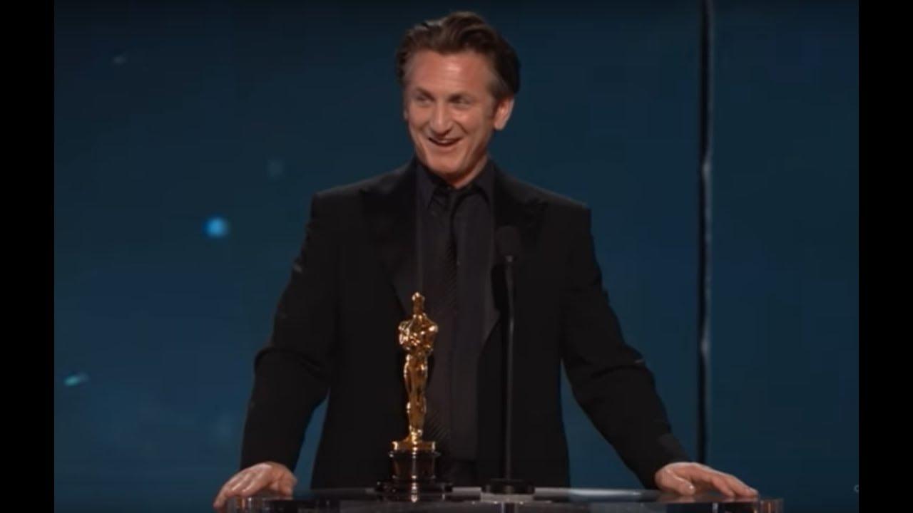 Sean Penn Winning Best Actor For Milk
