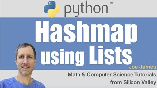 Python: Hashmap using Lists