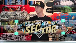 "Sector 9 Sentinel II 37.5"" Bamboo Sidewinder Complete Longboard Review - Tactics.com"