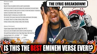 "Eminem's Best Verse!? | Logic ft. Eminem ""Homicide"" (Lyrical Breakdown!)"