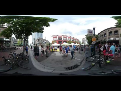 Samsung Gear 360 degree Camera Test Footage