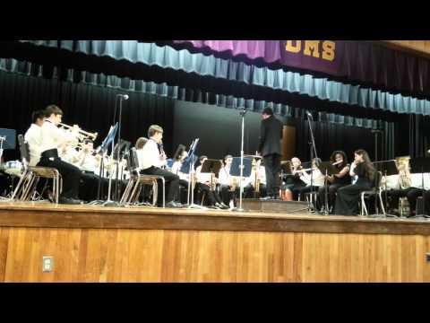 2015 Deland Middle School Spring Concert 1