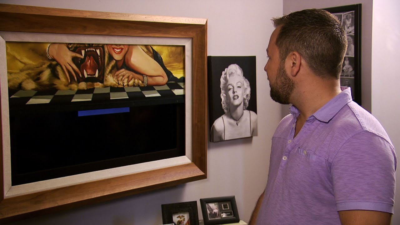 Creating The Man Cave With Frame My TV - YouTube