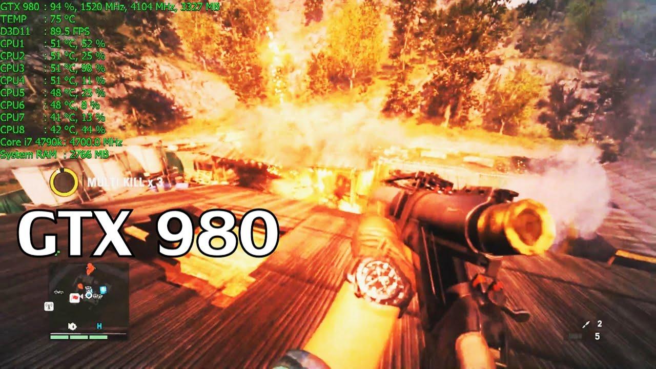 Far Cry 4 Pc Ultra 60fps Gtx 980 I7 4790k Youtube