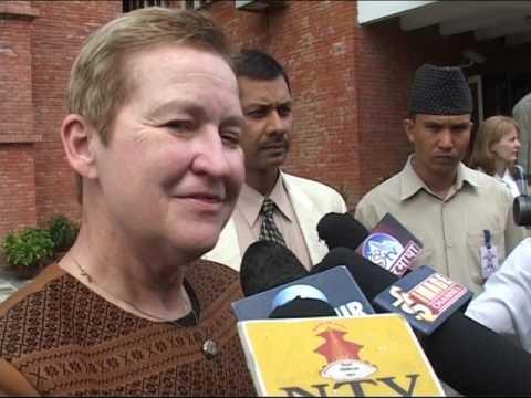 nancy J powell -USA ambassador to Nepal