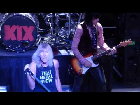"""Cold Shower"" Kix@Rams Head Live Baltimore 9/26/15"