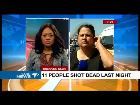 UPDATE: Shooting spree at Marikana, Phillipi East leaves 11 dead