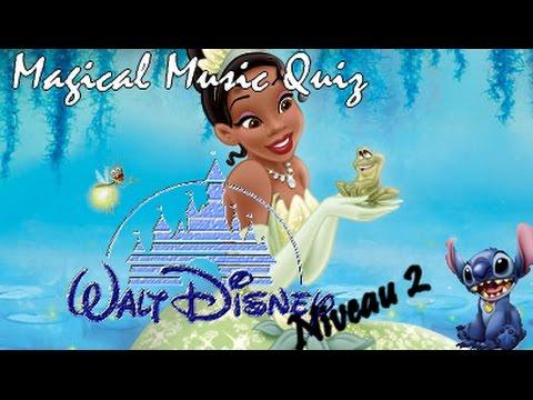 Magical Music Quiz Disney niveau 2