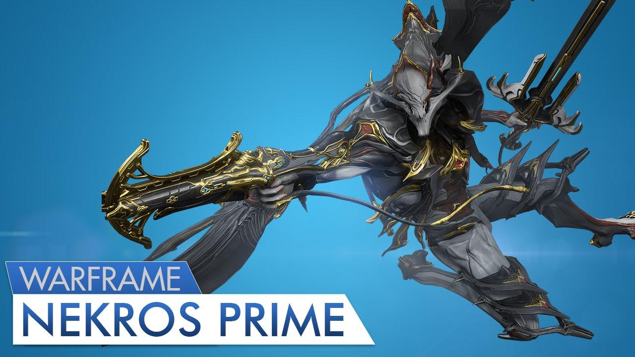 Warframe Nekros Prime 4 Forma YouTube