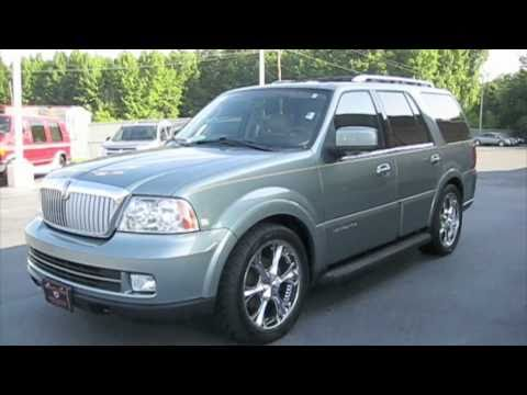 2006 Lincoln Navigator Start Up, Engine, and In Depth Tour