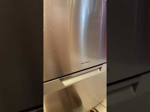 Fisher And Paykel Dishdrawer Not Draining