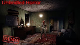 Unbridled Horror Demo Playthrough Gameplay (Awesome indie horror Game)