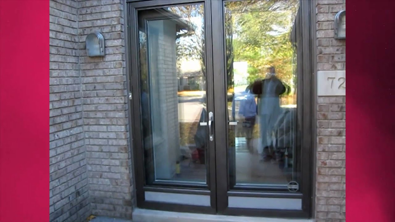 Ann and michael install glass inserts on their front door youtube eventelaan Gallery