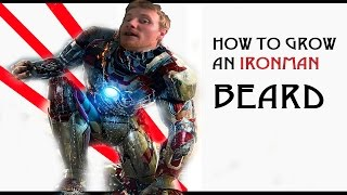 "HOW TO GROW AN ""IRON MAN"" BEARD: TIPS & GROOMING"