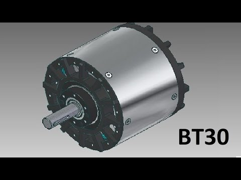 Spindle based on c5045 brushless motor doovi for Understanding brushless motor kv