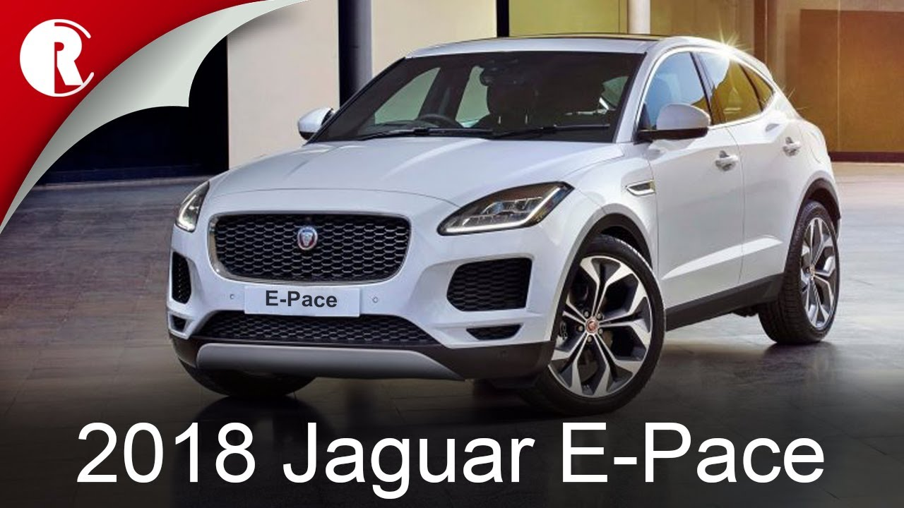 the 2018 jaguar e pace is small sporty and connected youtube. Black Bedroom Furniture Sets. Home Design Ideas