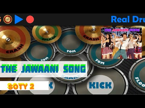 THE JAWAANI SONG | SOTY 2 | VISHAL DADLANI , PAYAL DEV | DRUM COVER BY ABHISHEK JOSHI